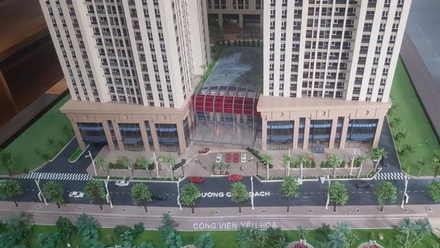 Dự án Home City có lối đi quy hoạch phía đường Nguyễn Chánh