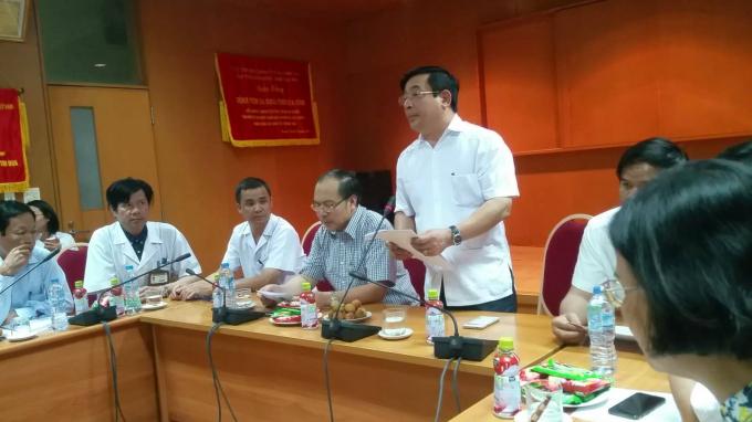 PGS.TS Lương Ngọc Khuê, Cục trưởng Cục Khám chữa bệnh (Bộ Y tế).