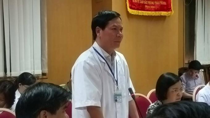 Ông Trương Quý Dương, Giám đốc Bệnh viện đa khoa tỉnh Hoà Bình