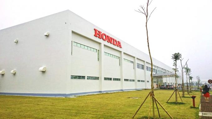 Trụ sở chi nhánh Nhà máy Honda tại Hà Nam.