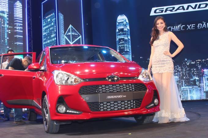Cận cảnh xe Huyndai i10 thế hệ mới 2017 được lắp ráp tại Việt Nam
