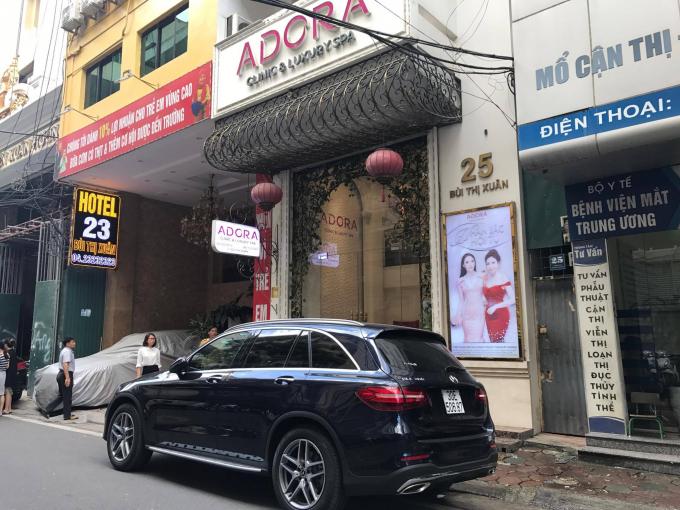 Trụ sở 25 Bùi Thị Xuân của Thẩm mỹ viện Adora.