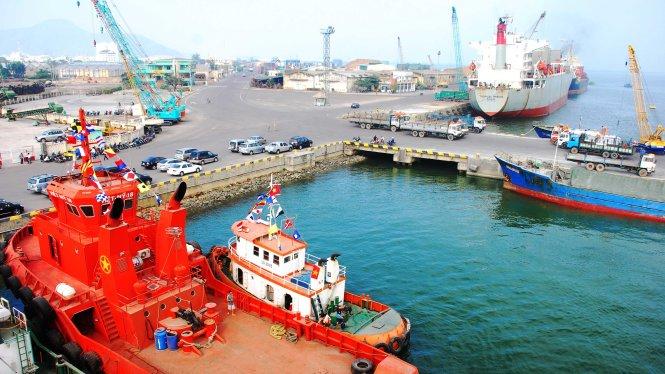Một góc cảng Quy Nhơn.