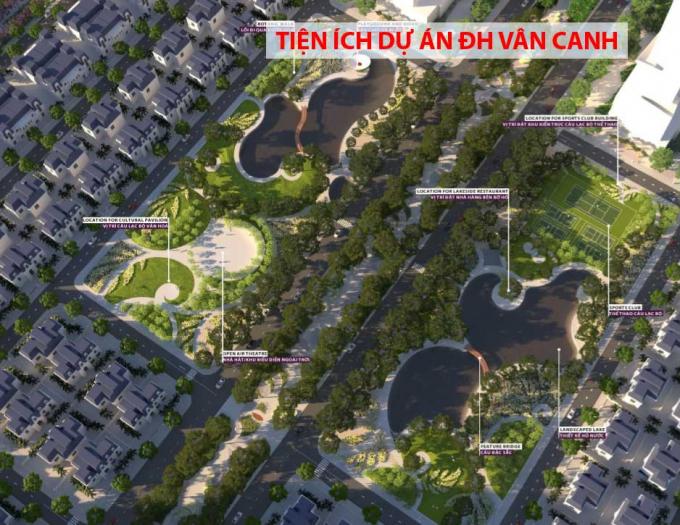 Dự án khu nhà ở KĐT Đại học Vân Canh thuộc diện phải cấp giấy phép xây dựng
