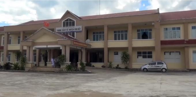 Trung tâm Y tế huyện Kon Rẫy. Ảnh Thương hiệu Công luận