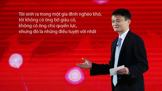 Tỷ phú Jack Ma nói về mối liên hệ giữa tiền và thành công