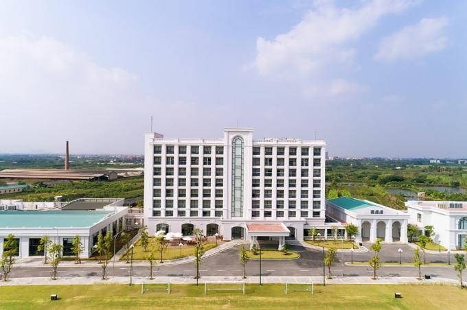 Trụ sở mới của Trung tâm Đào tạo Bóng đá Trẻ PVF tại Hưng Yên.