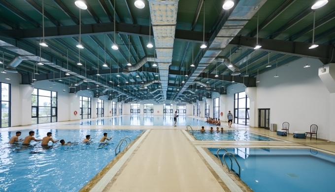 02 bể trị liệu đối cực, 01 bể vật lý trị liệu dưới nước tại PVF Hưng Yên.
