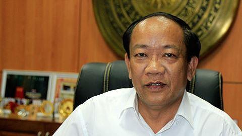 Ông Đinh Văn Thu, Phó Bí thư Tỉnh ủy, Chủ tịch UBND tỉnh Quảng Nam bị kỷ luật cảnh cáo. Ảnh ANTĐ.