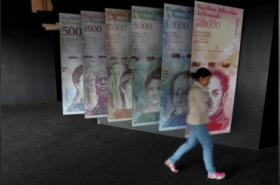 Đồng tiền của Venezuela gần như vô giá trị (Nguồn: Reuters).