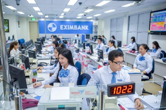 Ngân hàng Eximbank. Ảnh minh họa.