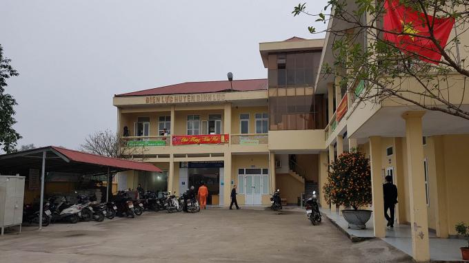 Điện lực Bình Lục (Hà Nam). Ảnh Hùng Văn