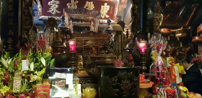 Theo kế hoạch, vào 23h15, đêm 14 tháng Giêng, Ban tổ chức lễ hội thực hiện nghi lễ khai ấn.