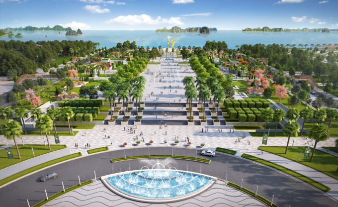 Phối cảnh Quảng trường Sun Carnival Plaza