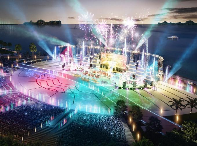 Phối cảnh Quảng trường Sun Carnival Plaza quy mô lớn và hiện đại bậc nhất Việt Nam