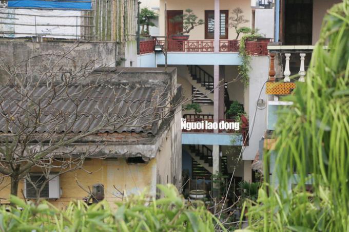 Hình ảnh ghi nhận về ngôi nhà nơi ông Phan Văn Vĩnh ở sau khi về hưu