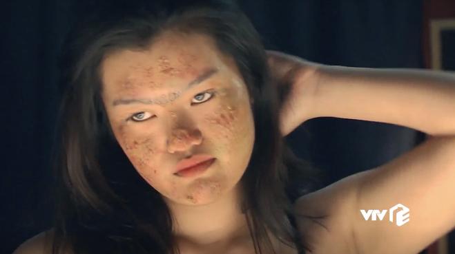 Dung nhan cô gáitố bị Phan Hải cưỡng hiếp.