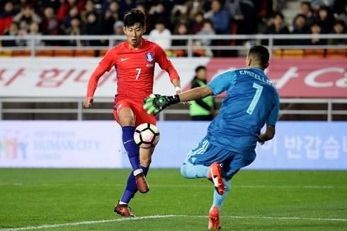 Heung Min Son là niềm hy vọng lớn nhất của Hàn Quốc ở World Cup 2018. (Ảnh: Getty)