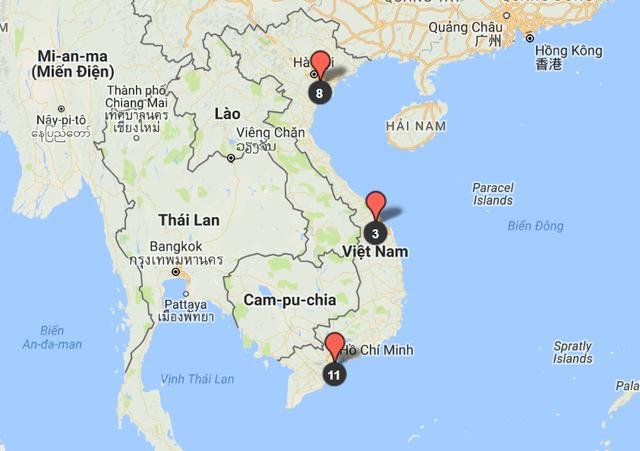 Hệ thống phân phối Chevrolet Việt Nam