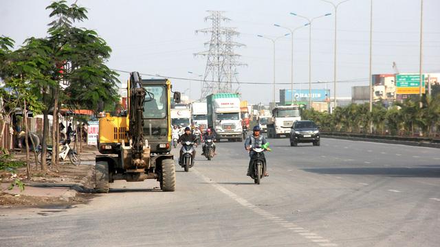 Dự án cải tạo 2,2km đường 356 (từ ngã ba Nguyễn Bỉnh Khiêm đến đập Đình Vũ, Q.Hải An, TP Hải Phòng) bị đội vốn gần 1.000 tỉ đồng - Ảnh: TIẾN THẮNG