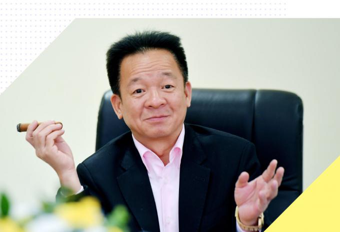 Ông Đỗ Quang Hiến, Chủ tịch Hội đồng quản trị kiêm Tổng giám đốc Công ty Cổ phần Tập đoàn T&T.