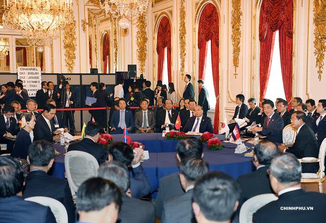 Thủ tướng Nguyễn Xuân Phúc và lãnh đạo cấp cao các nước Mekong tại Hội nghị Mekong - Nhật Bản (ảnh: VGP)
