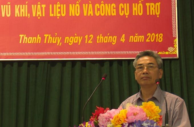 Ông Nguyễn Văn Hòa.
