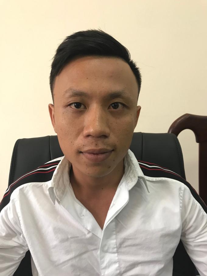Đối tượng Trần Quang Nam.