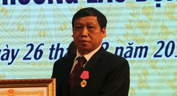 Ông Nguyễn Văn Đồng, Giám đốc BV Đa khoa Bắc Giang. Ảnh Diệu Hoa