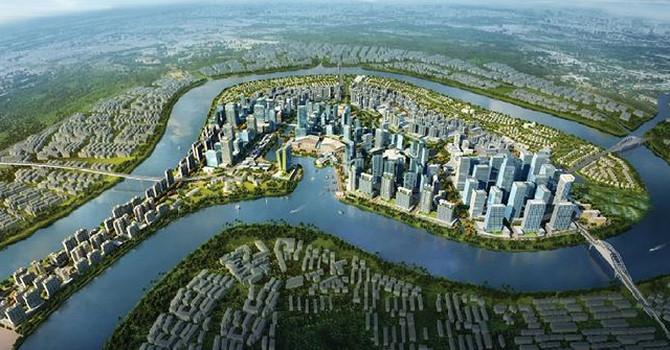 Phối cảnh dự án Khu đô thị Bình Quới – Thanh Đa.