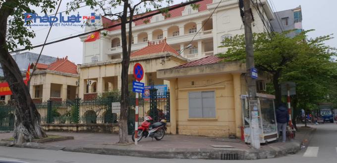 Trụ sở Sở GTVT tỉnh Hải Dương một buổi chiều đầu tháng 1/2019.
