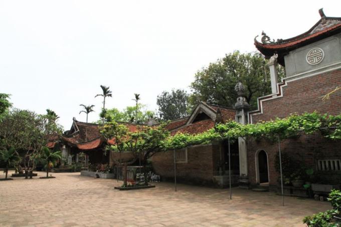 Một góc chùa Vĩnh Nghiêm (Yên Dũng, Bắc Giang).