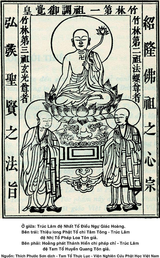 Linh thiêng hành trình về Tam tổ Trúc Lâm