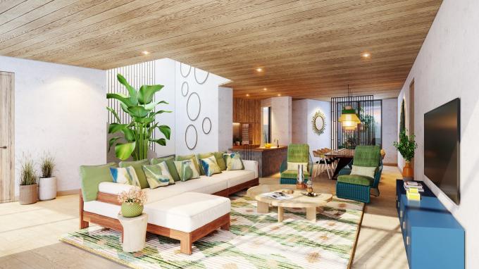 Phối cảnh villa Sun Premier Village Kem Beach Resort sang trọng