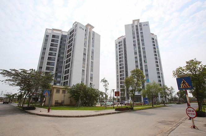 Ct15 - Ct16 Khu đô thị mới Tứ Hiệp là khu nhà ở xã hội của Công ty CP Hồng Hà Dầu khí