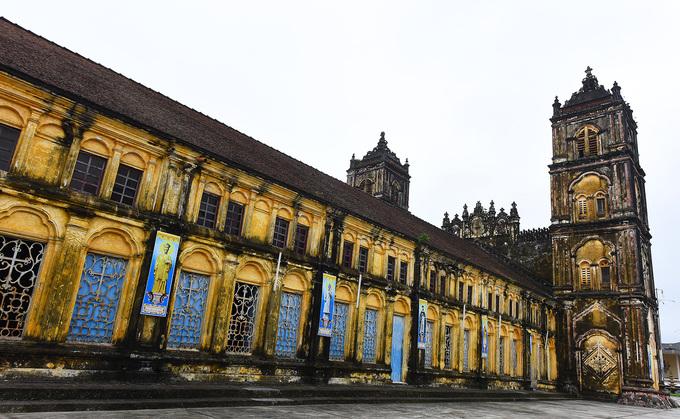 Nhà thờ Bùi Chu. Ảnh Quang Huy.