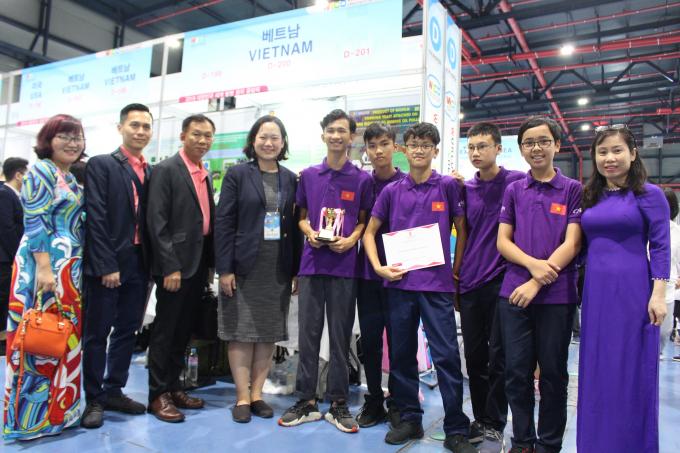 2 sáng chế của học sinh Việt Nam được đánh giá cao bởi tính mới, sáng tạo và thiết thực