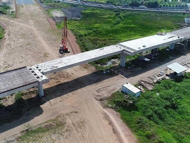 Cao tốc Trung Lương - Mỹ Thuận. Ảnh PLO