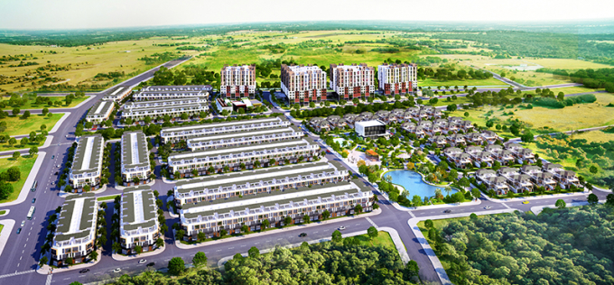 Bất động sản Phố Nối xuất hiện nhiều dự án quy mô lớn