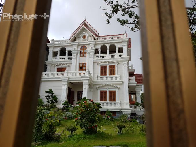 Một biệt thự đẹp tại KĐT Phú Lộc 4 (TP Lạng Sơn). Ảnh Chí Kiên.