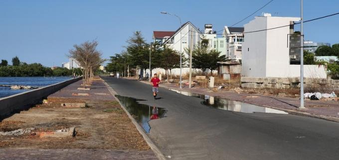 Một góc các dự án khu nhà ở khu vực Bến Đình, Vũng Tàu. Ảnh: TK (PLO)