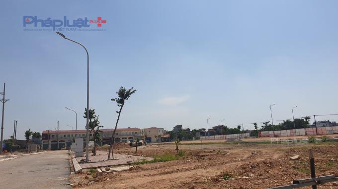 Một góc dự án Khu dân cư số 6, huyện Việt Yên, Bắc Giang.