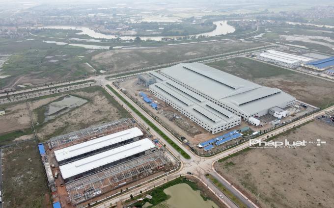 Một góc KCN Hoà Phú (huyện Hiệp Hoà, Bắc Giang) đang được các nhà đầu tư quan tâm.