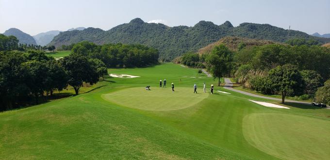 Một góc dự án sân golf Kim Bảng tại thị trấn Ba Sao, huyện Kim Bảng. Ảnh minh họa.