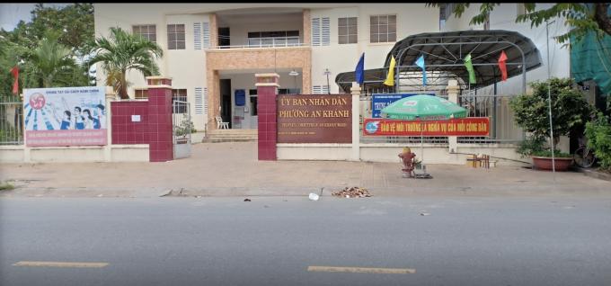 Trụ sở UBND phường An Khánh, quận Ninh Kiều, TP Cần Thơ.