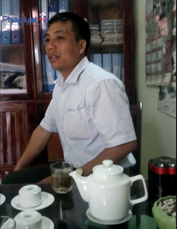 Ông Quang - Hạt trưởng Kiểm lâm rừng đặc dụng huyện Nà Hang.