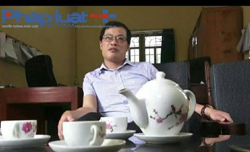 Ông Lê Huy Quang - Phó chủ tịch UBND xã Đông An, khẳng định với phóng viên về việc các đối tượng phá rừng là tái phạm.