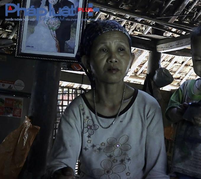Bà Đặng Thị Sinh - Thôn 1 Trung Thành (Ảnh: Tiến Vũ)