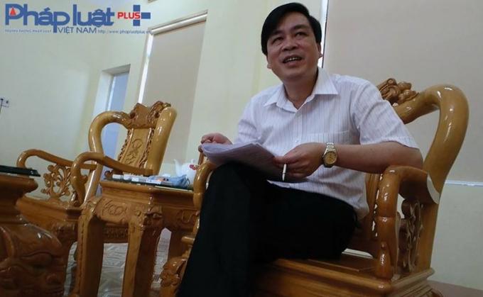 Ông Mai Mộng Tuân - Phó giám đốc Sở NN&PTNT tỉnh Yên Bái (Ảnh: Tiến Vũ)