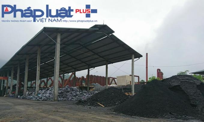 Một góc phân xưởng luyện quặng Antimon Bình An.